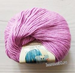 Пряжа Ализе Бейби Вул (Alize Baby Wool) 672 розово-сиреневый