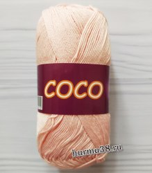Пряжа Вита Коко (Vita Coco) 4317 розовая пудра