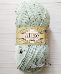 Пряжа Ализе Альпака Твид (Alize Alpaca Tweed) 522