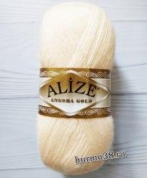 Пряжа Ализе Ангора Голд (Alize Angora Gold) 681 ярко-персиковый