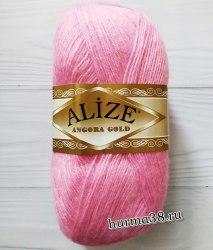 Пряжа Ализе Ангора Голд (Alize Angora Gold) 39 розовый леденец
