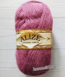 Пряжа Ализе Ангора Голд (Alize Angora Gold) 28 роза