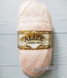 Пряжа Ализе Ангора Голд (Alize Angora Gold) 271 жемчужно-розовый
