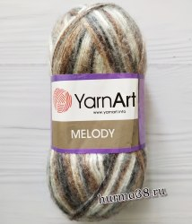 Пряжа Ярнарт Мелоди (YarnArt Melody) 907