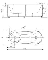 Ванна акриловая Aquatek Афродита 150x70, 170x70