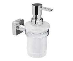 Дозатор для жидкого мыла стеклянный Wasserkraft К-6599