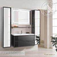 Мебель для ванной Акватон Римини 100 черная