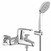 Смеситель для ванны с ручным душем Grohe Eurodisc Cosmopolitan 33395002