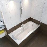 Ванна акриловая Ravak Campanula 170x75, 180x80