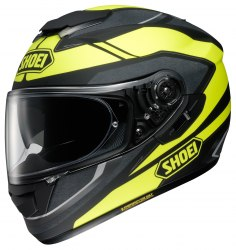 Мотошлем SWAYER Black/Yellow SHOEI GT-AIR