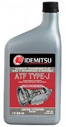 Трансмиссионная жидкость IDEMITSU TYPE - J, банка 0,946л