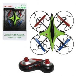 1toy GYRO-Cross квадрокоптер 2,4GHz 4 канала 16х16см, 6-осевой, real headless режим