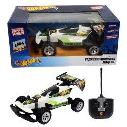Hot Wheels машинка багги на р/у,1:20,скорость - 14км/ч, со светом, на батарейках, белая 1Toy Т10976