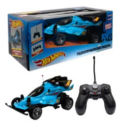 Hot Wheels багги на р/у,1:20, cо светом и звуком, скорость 19км/ч, синяя 1Toy Т10980
