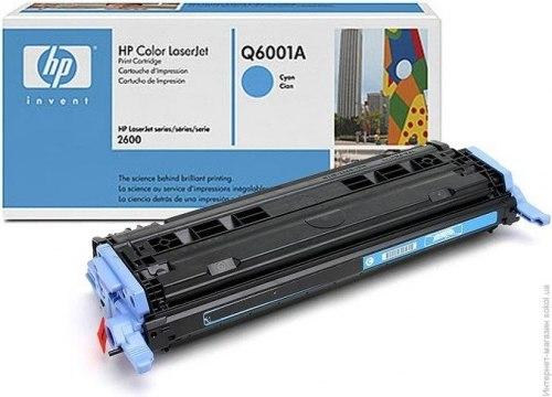 Заправка HP Color LJ 1600/2600/2605/СМ1015/1017 (Q6001A)