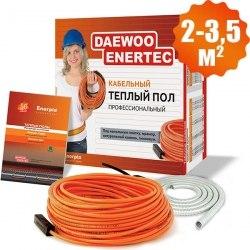 Кабельный теплый пол Enerpia daewoo-enertec DW25W22L