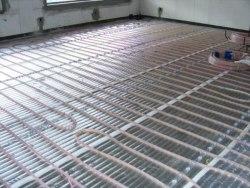 Теплый пол daewoo-enertec 30 м2 (отопление в бане)
