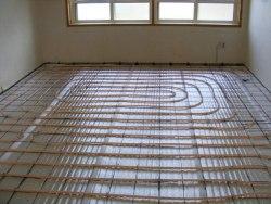 Теплый пол daewoo-enertec 35 м2 (отопление дома)