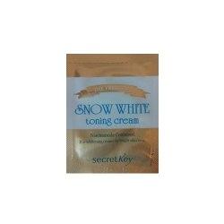 Осветляющий крем для лица SECRET KEY The Premium Snow White Toning Cream пробник