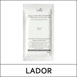 Органический шампунь с экстрактами и эфирными маслами LA'DOR Triple Natural Shampoo 10 ml (пробник)