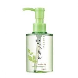 Глубоко очищающее гидрофильное масло WELCOS Green Tea Deep Cleansing Oil |170мл|