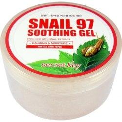 Гель успокаивающий для лица и тела, с экстрактом секреции улитки 97% SECRET KEY Snail 97 Soothing Gel |300мл|