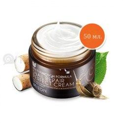 Питательный крем для лица с экстрактом улитки идеальный MIZON Snail Repair Perfect Cream |50мл|