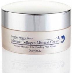Крем для лица морской коллаген DEOPROCE Marine Collagen Mineral Cream 100мл