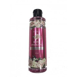 Вода очищающая с экстрактом розы DEOPROCE Rose Sparkling Cleansing water 210ml