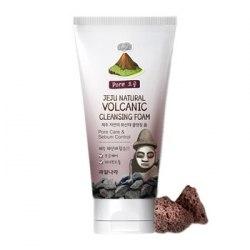 Пенка для умывания для комбинированной и чувствительной кожи WELCOS Jeju Natural Volcanic Cleansing Foam 120 мл