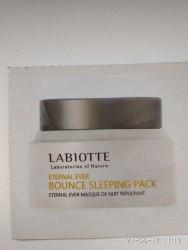 Маска ночная укрепляющая LABIOTTE Eternal Ever Bounce Sleeping Pack пробник 1мл