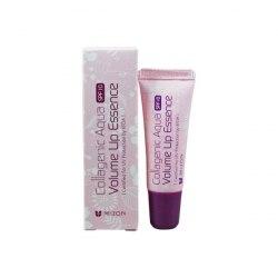 Бальзам для губ коллагеновый с солнцезащитным фактором MIZON Collagenic Aqua Volume Lip Essence SPF10 10 мл