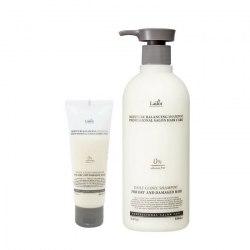 Увлажняющий шампунь для волос без силиконов LA'DOR Moisture Balancing Shampoo 530 ml