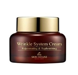 Анти-возрастной питательный крем для лица с коллагеном THE SKIN HOUSE Wrinkle System Cream 30 мл