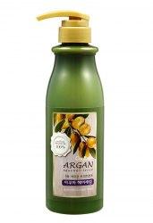 Сыворотка для волос с аргановым маслом WELCOS Сonfume Аrgan Тreatment Aqua hair Serum 500мл