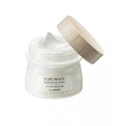 Крем осветляющий с эффектом сияния THE SAEM Pure White Brightening Cream 80мл