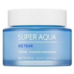 Крем для лица увлажняющий MISSHA SUPER AQUA ICE TEAR CREAM 50мл