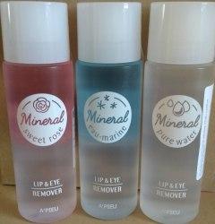 Двухфазная минеральная жидкость для снятия макияжа A'PIEU Lip & Eye Remover 100мл