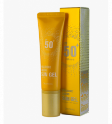 Гель солнцезащитный освежающий DEOPROCE Hyaluronic Cooling Sun Gel Spf 50 PA+++ 50мл