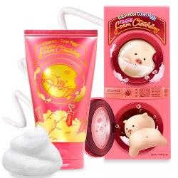Пенка очищающая ELIZAVECCA Clean Piggy Pinkenergy Foam Cleansing, 120 мл