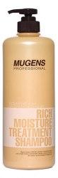 Интенсивный восстанавливающий шампунь WELCOS Mugens Rich Moisture Treatment Shampoo 1000мл