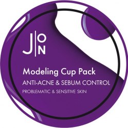 J:ON Альгинатная маска АНТИ-АКНЕ И СЕБУМ КОНТРОЛЬ ANTI-ACNE & SEBUM CONTROL MODELING PACK J:ON