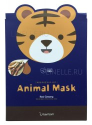 -Berrisom Animal Маска таканевая с экстрактом женьшеня Animal mask series - Tiger 25мл Berrisom