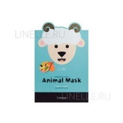 -Berrisom Animal Маска тканевая с витамином С и арбутином Animal mask series - Sheep 25мл Berrisom