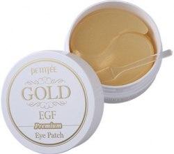 -PETITFEE Набор патчей д/век ПРЕМИУМ ЗОЛОТО/EGF Premium Gold & EGF Hydrogel Eye Patch, 60 шт PETITFEE