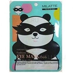 -MILATTE Eye Маска от морщин и темных кругов вокруг глаз MILATTE FASHIONY BLACK EYE MASK-PANDA 10гр MILATTE
