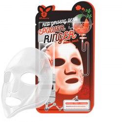 Elizavecca Ткан. маска д/лица с Красн. Женьш. RED gInseng DEEP PQWER Ringer mask pack Elizavecca
