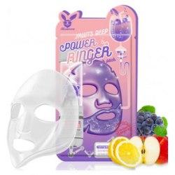 Elizavecca Тканевая маска д/лица Фруктовая FRUITS DEEP POWER Ringer mask pack Elizavecca