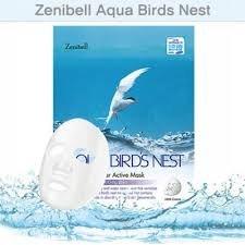 ZENIBELL AQUA BIRD`S NEST MASK Гидрогелевая маска с экстрактом ласточкиного гнезда. ZENIBELL
