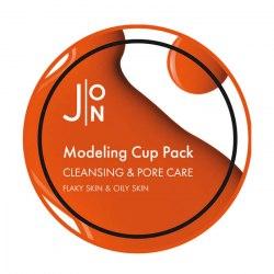 Альгинатная маска ОЧИЩЕНИЕ И СУЖЕНИЕ ПОР CLEANSING & PORE CARE MODELING PACK J:ON
